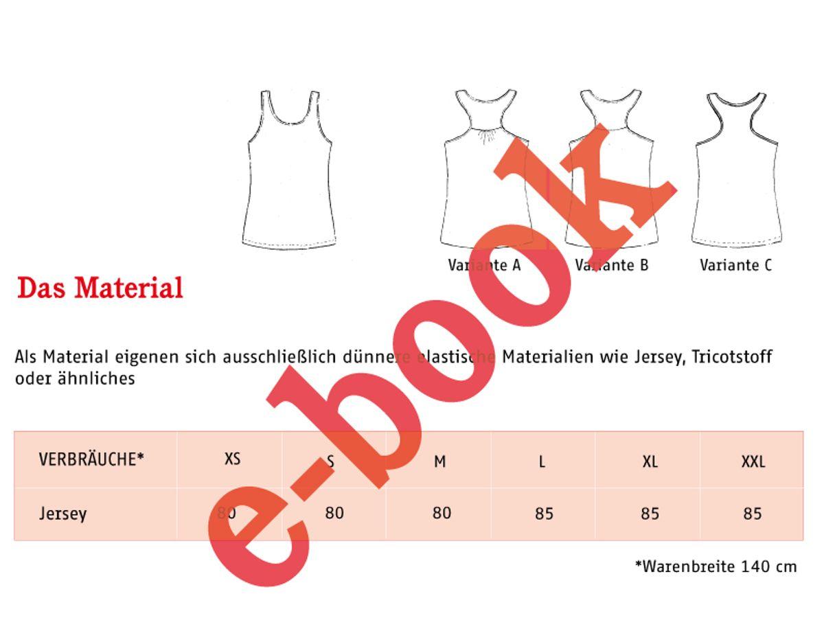 Produktfoto 2 von STUDIO SCHNITTREIF für Schnittmuster FRAU HENNIE & HENNIE Tops im Partnerlook