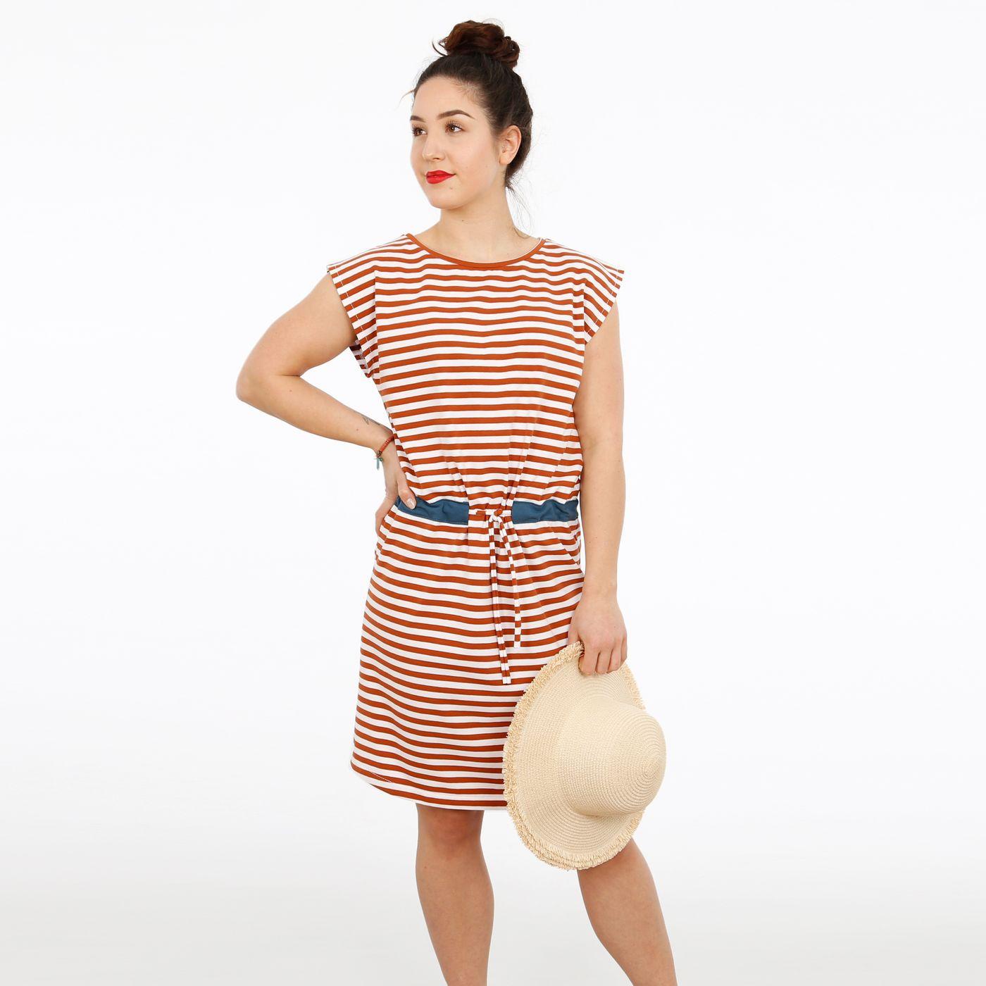Produktfoto 5 von STUDIO SCHNITTREIF für Schnittmuster FRAU JULIE & JULIE Jerseykleider im Partnerlook