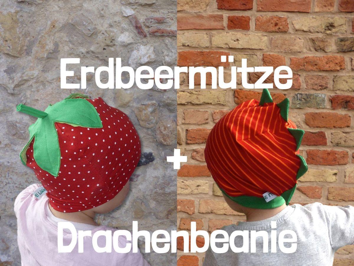 Produktfoto 1 von Windschnittich für Schnittmuster Erdbeermütze + Drachenbeanie