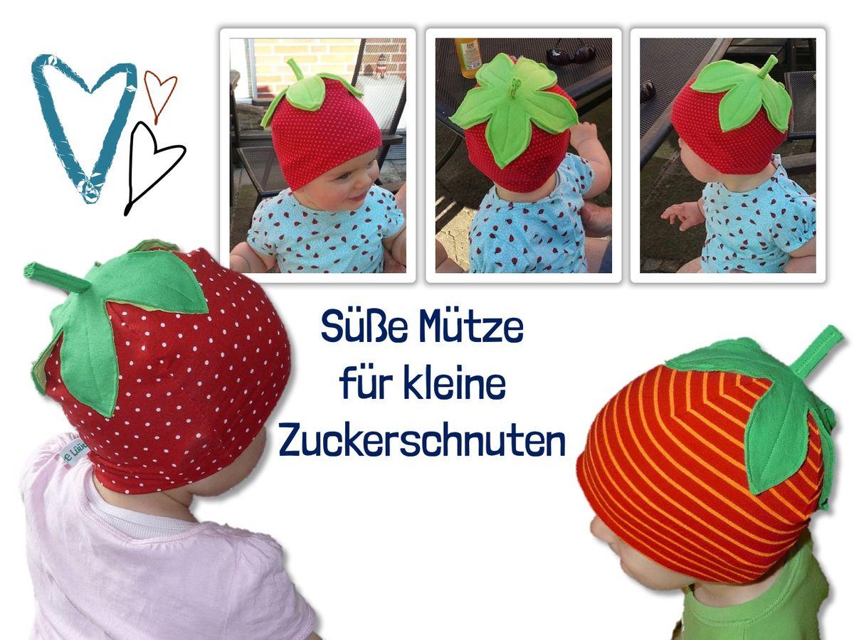Produktfoto 2 von Windschnittich für Schnittmuster Erdbeermütze + Drachenbeanie
