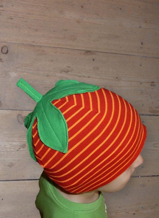 Produktfoto 3 von Windschnittich für Schnittmuster Erdbeermütze + Drachenbeanie