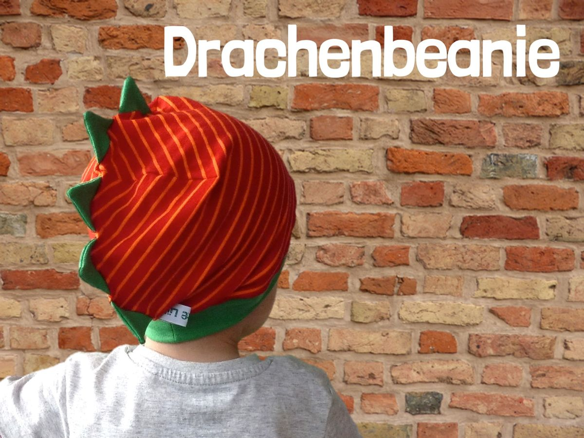 Produktfoto 7 von Windschnittich für Schnittmuster Erdbeermütze + Drachenbeanie
