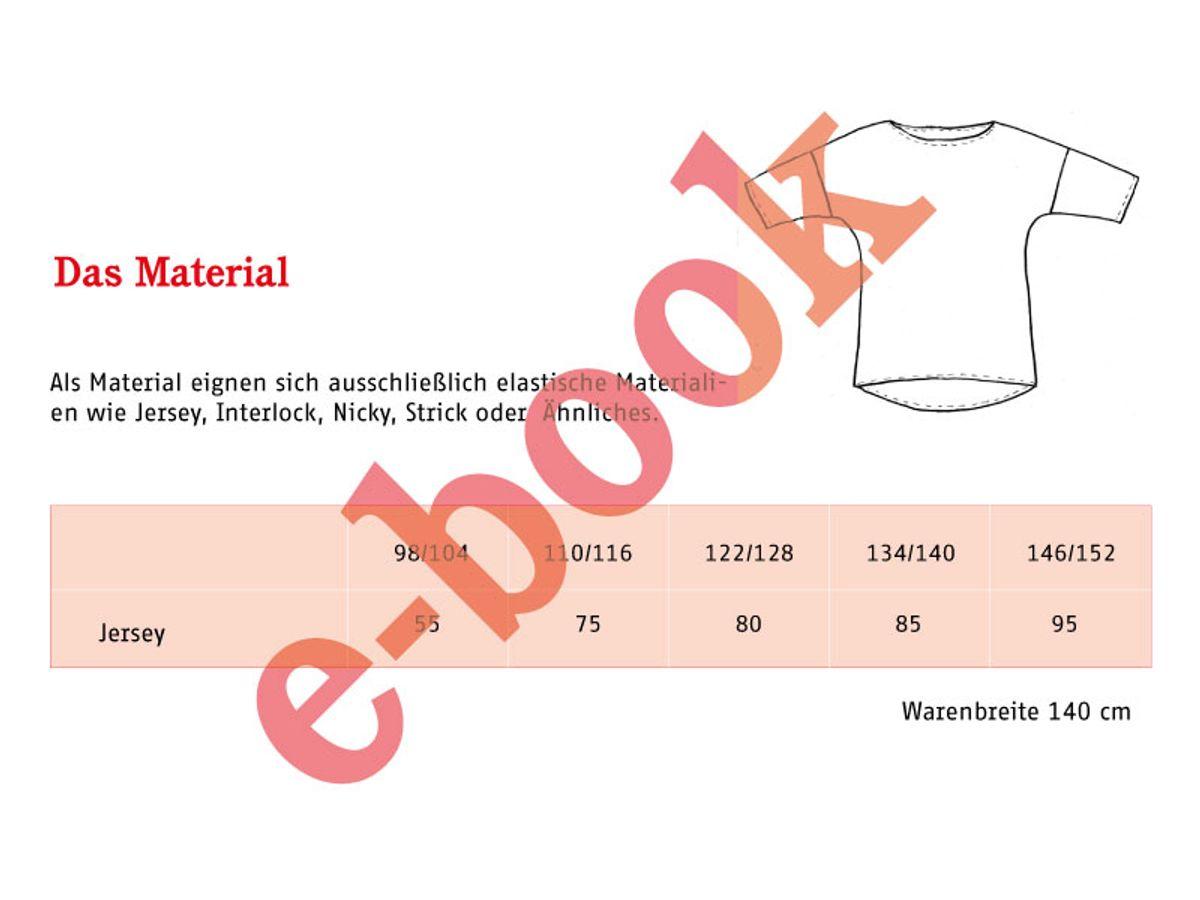 Produktfoto 2 von STUDIO SCHNITTREIF für Schnittmuster FRAU KARLA & KARLA Shirts im Partnerlook