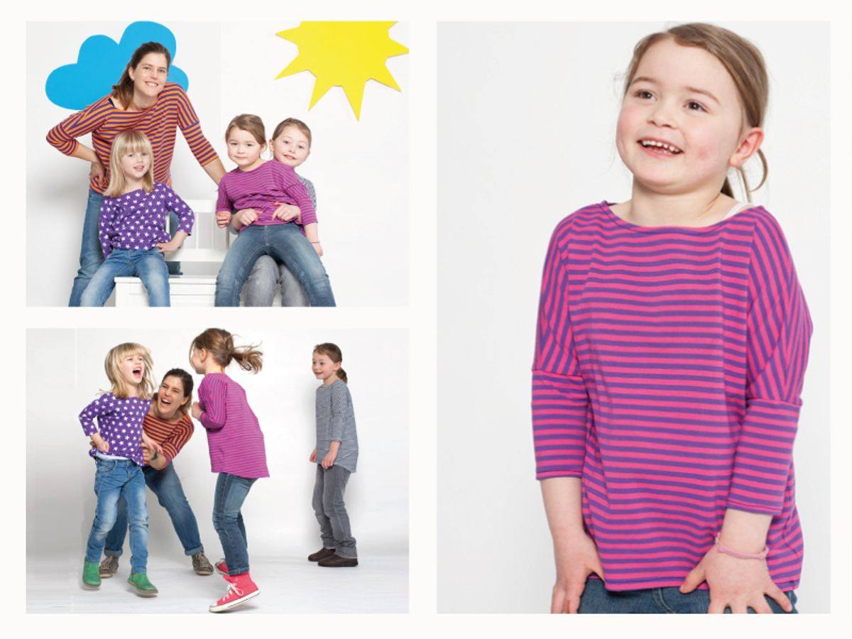 Produktfoto 3 von STUDIO SCHNITTREIF für Schnittmuster FRAU KARLA & KARLA Shirts im Partnerlook