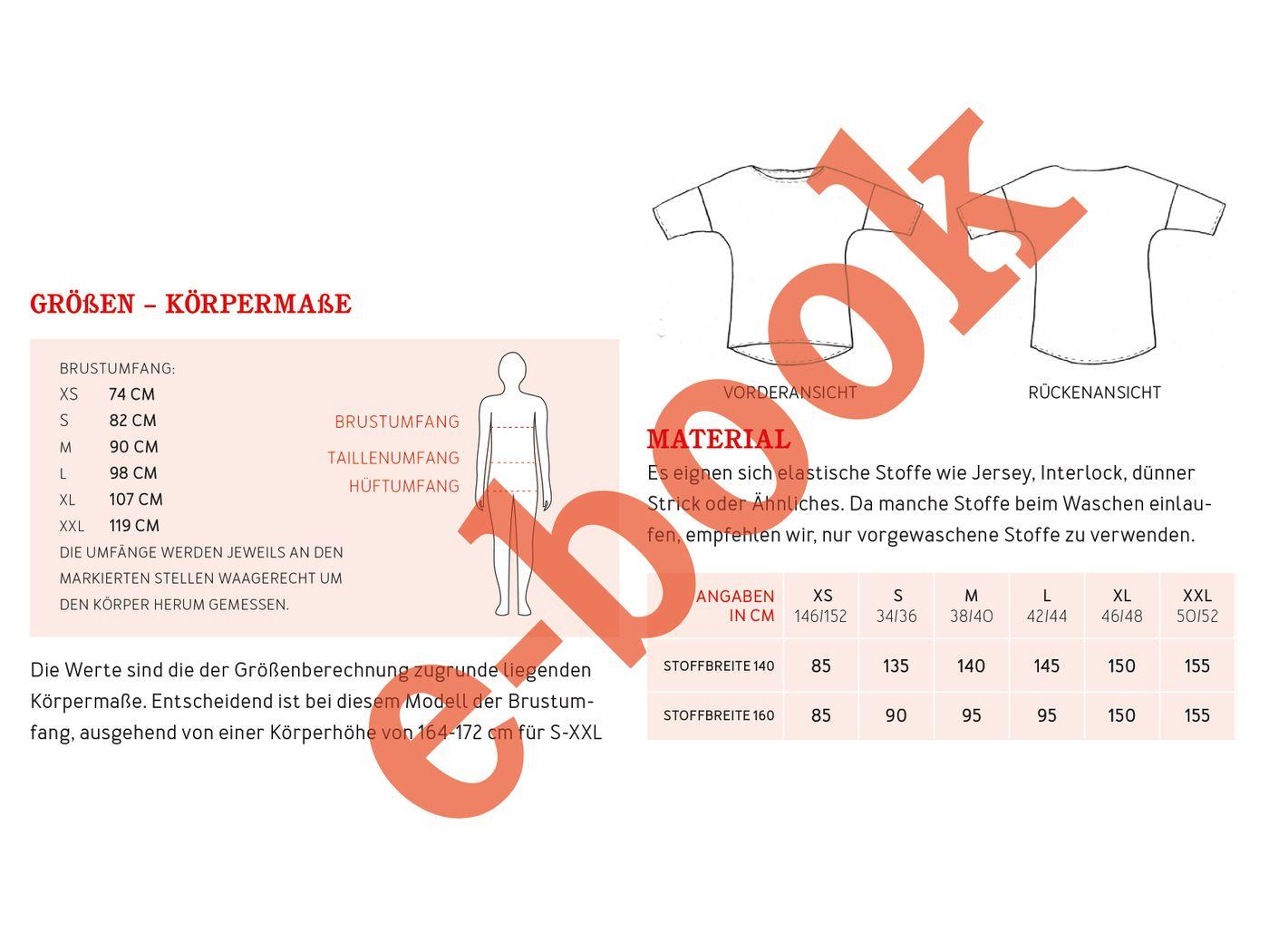 Produktfoto 6 von STUDIO SCHNITTREIF für Schnittmuster FRAU KARLA & KARLA Shirts im Partnerlook