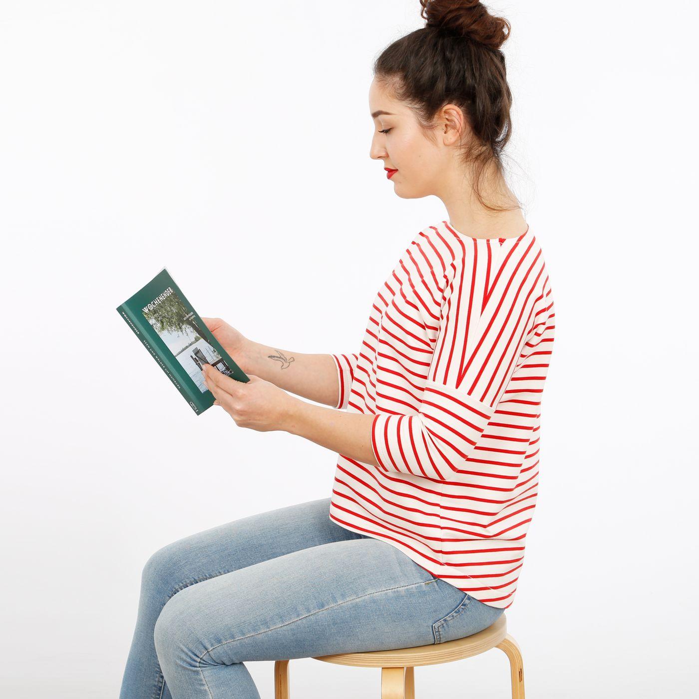 Produktfoto 7 von STUDIO SCHNITTREIF für Schnittmuster FRAU KARLA & KARLA Shirts im Partnerlook