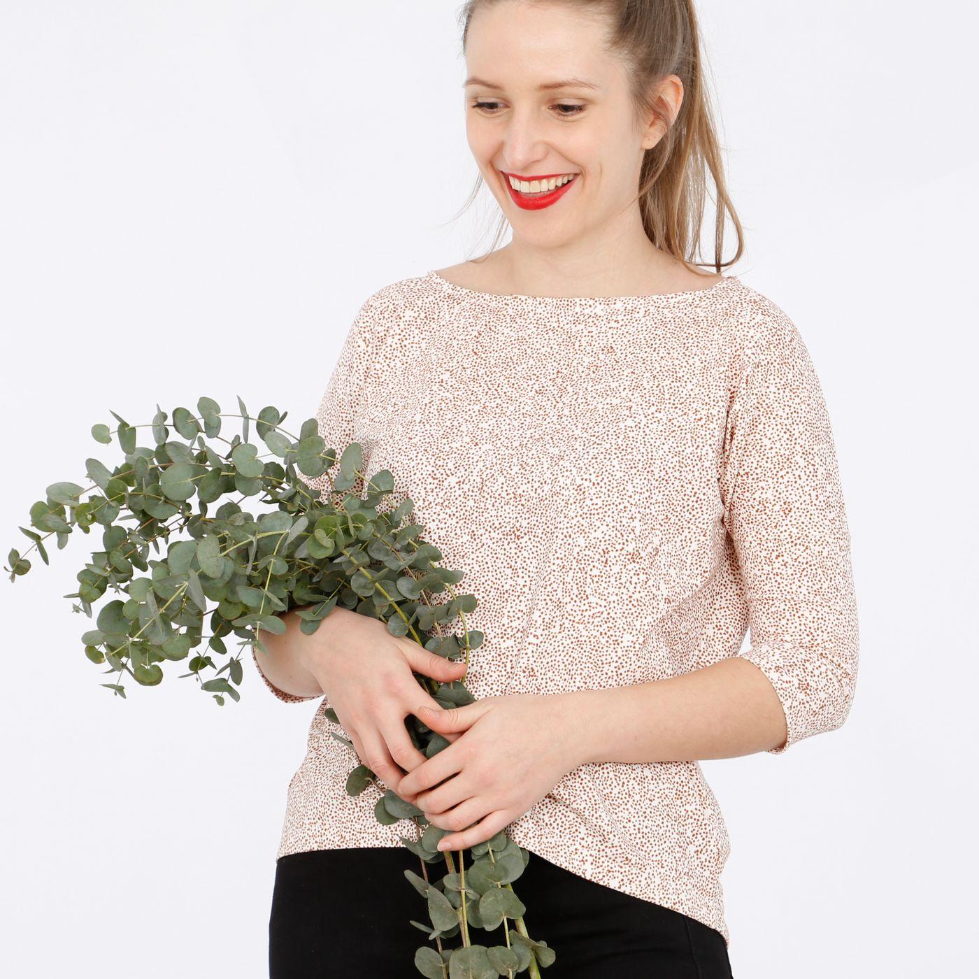 Produktfoto 8 von STUDIO SCHNITTREIF für Schnittmuster FRAU KARLA & KARLA Shirts im Partnerlook