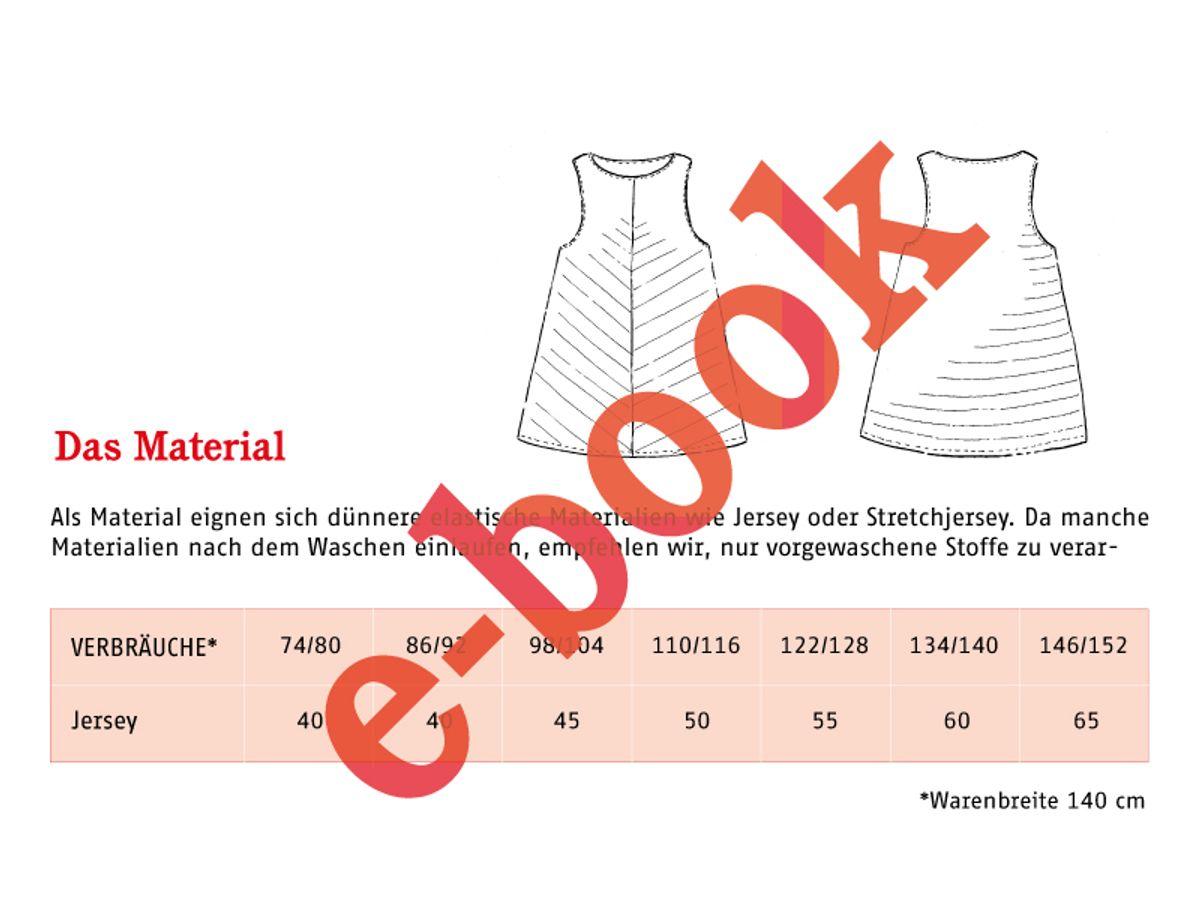 Produktfoto 2 von STUDIO SCHNITTREIF für Schnittmuster FRAU LIZZY & LIZZY luftige Tops im Partnerlook