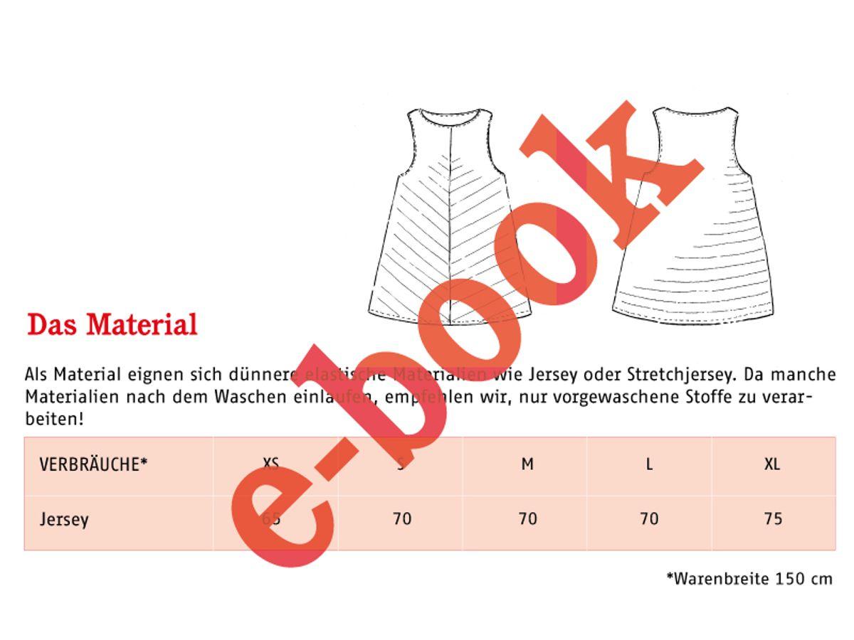 Produktfoto 4 von STUDIO SCHNITTREIF für Schnittmuster FRAU LIZZY & LIZZY luftige Tops im Partnerlook