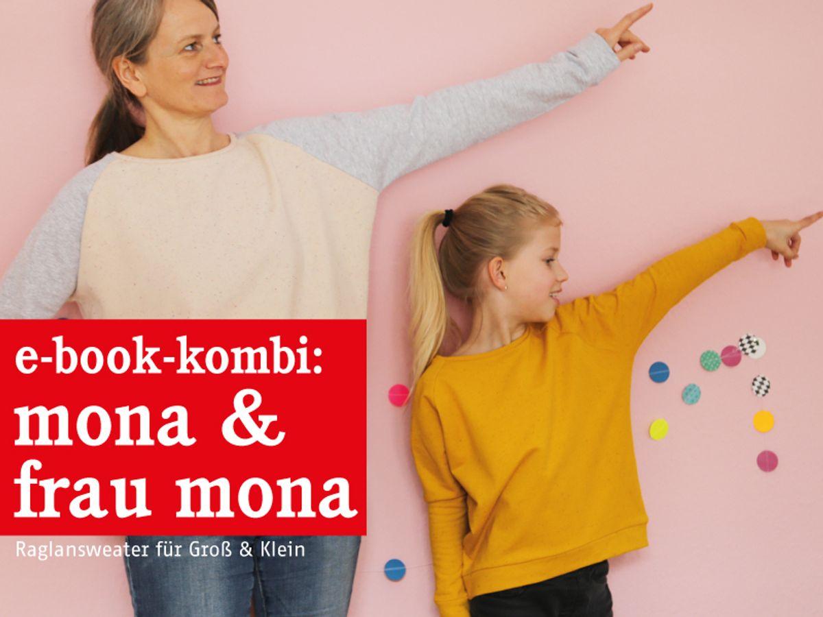 Produktfoto 1 von STUDIO SCHNITTREIF für Schnittmuster FRAU MONA & MONA Sweater im Partnerlook