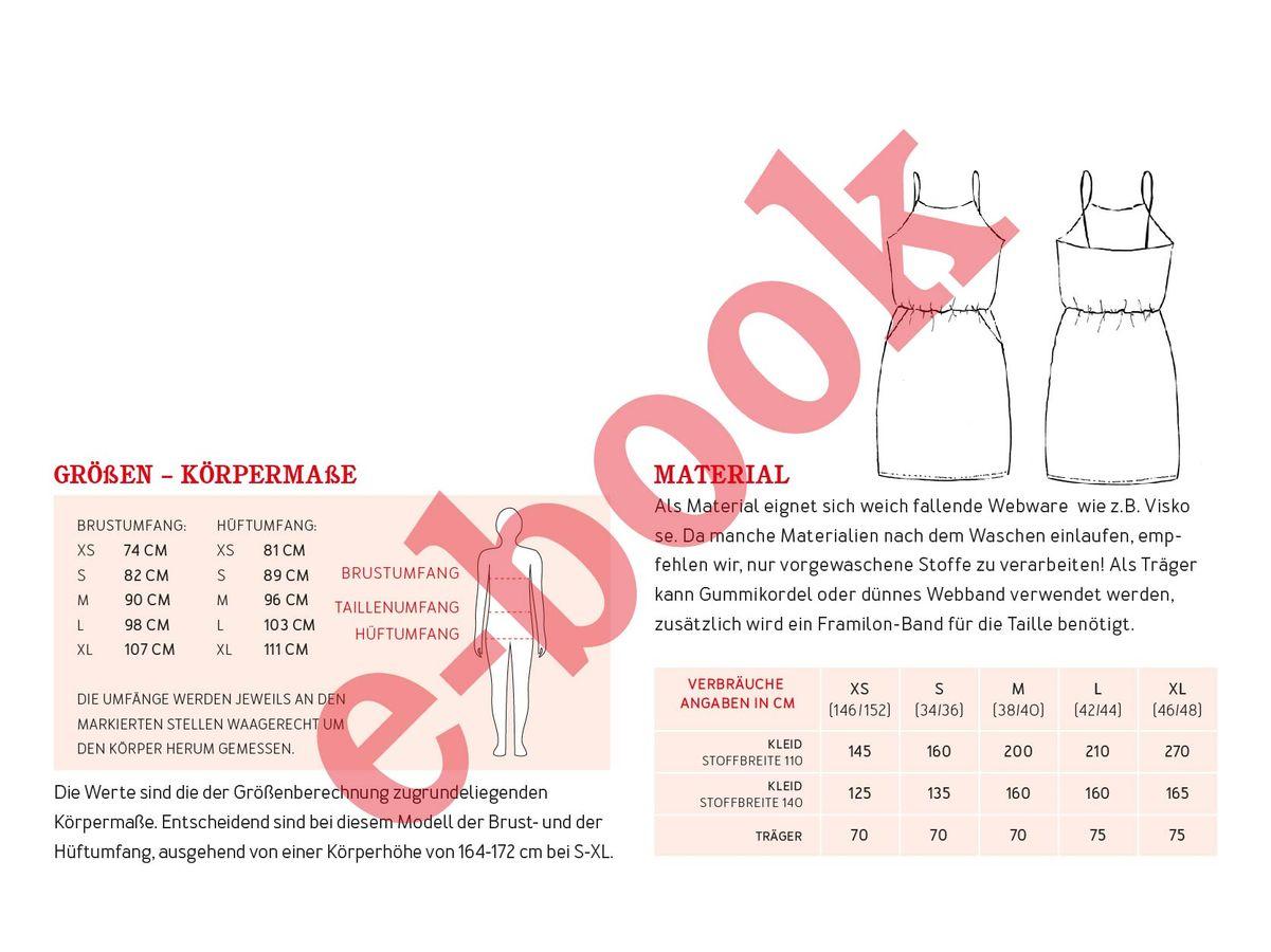Produktfoto 3 von STUDIO SCHNITTREIF für Schnittmuster FRAU SOFIE & SOFIE  Trägerkleider im Partnerlook