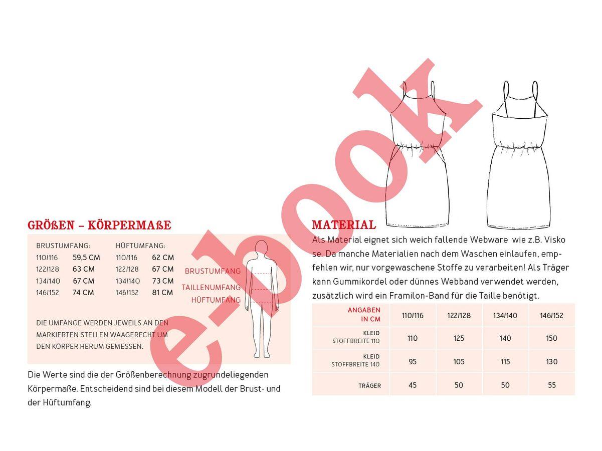 Produktfoto 4 von STUDIO SCHNITTREIF für Schnittmuster FRAU SOFIE & SOFIE  Trägerkleider im Partnerlook