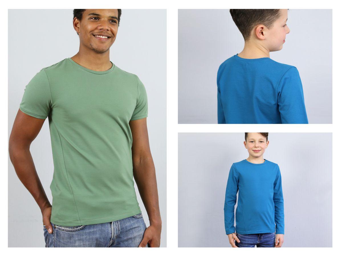 Produktfoto 3 von STUDIO SCHNITTREIF für Schnittmuster HERR BELA & BELA  Shirts im Partnerlook