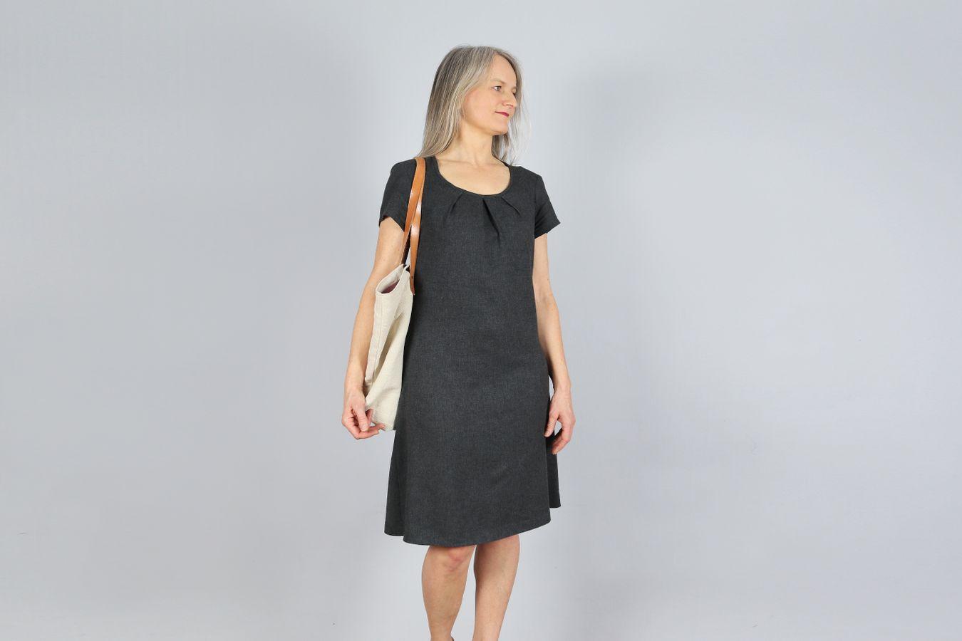Produktfoto 5 von STUDIO SCHNITTREIF für Schnittmuster AMELAND und FRAU AMELAND • Kleider im Partnerlook,  e-book Kombi