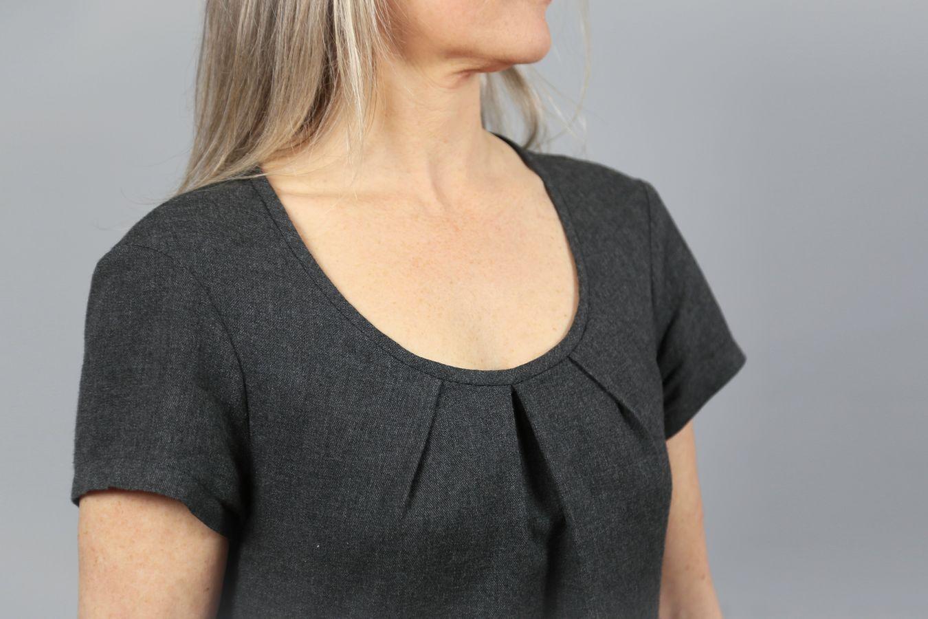 Produktfoto 7 von STUDIO SCHNITTREIF für Schnittmuster AMELAND und FRAU AMELAND • Kleider im Partnerlook,  e-book Kombi