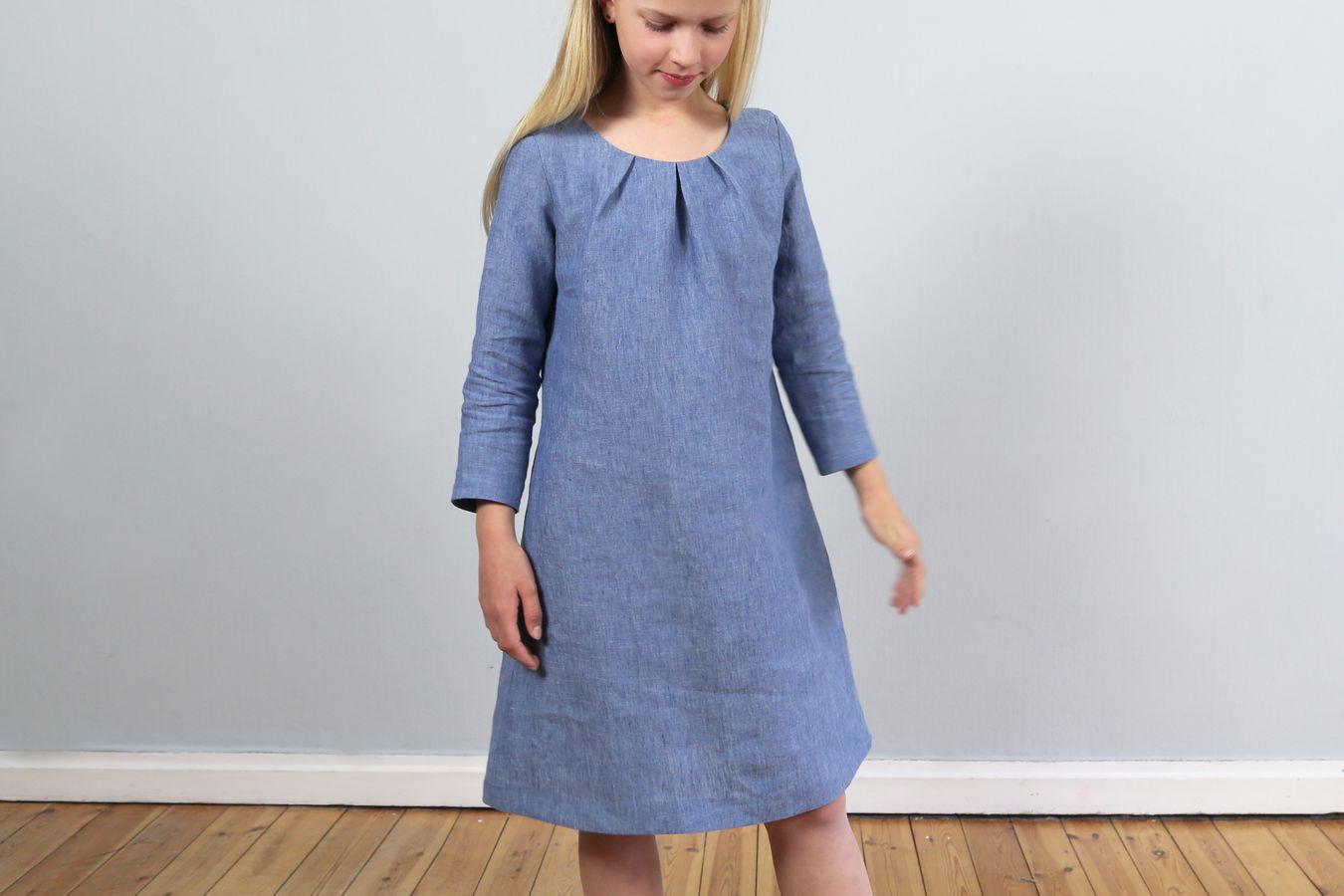 Produktfoto 8 von STUDIO SCHNITTREIF für Schnittmuster AMELAND und FRAU AMELAND • Kleider im Partnerlook,  e-book Kombi