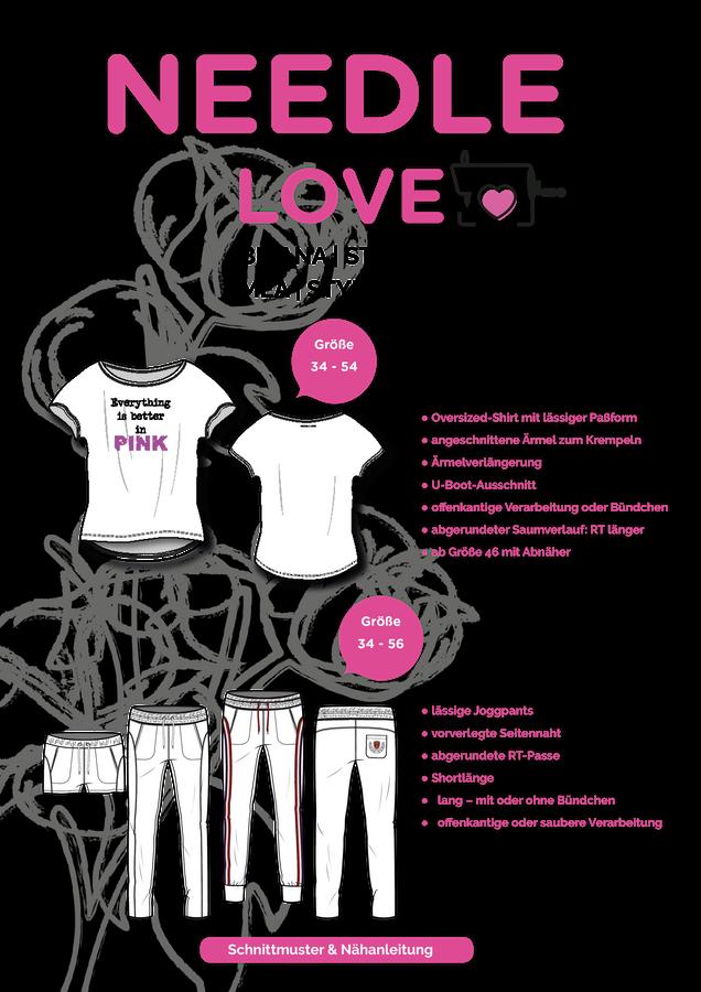 Produktfoto 1 von {NEEDLE LOVE} für Schnittmuster BRIANA und MEA