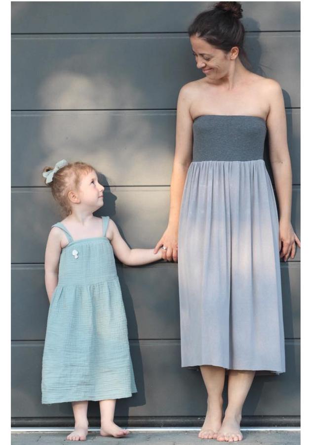 Produktfoto 2 von Rosalieb & Wildblau für Schnittmuster Kombi-Ebook Boho-Bandeau Damen und Kids
