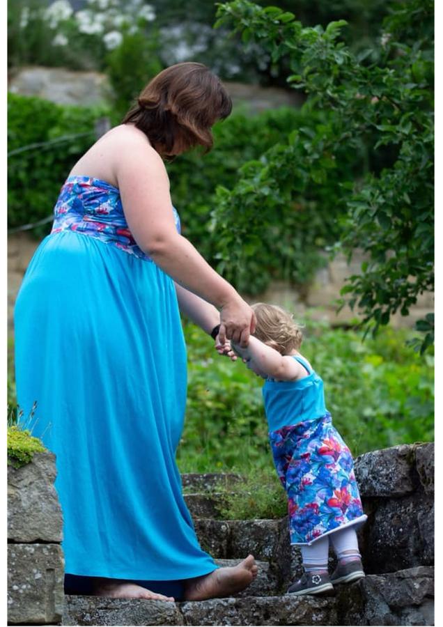 Produktfoto 4 von Rosalieb & Wildblau für Schnittmuster Kombi-Ebook Boho-Bandeau Damen und Kids