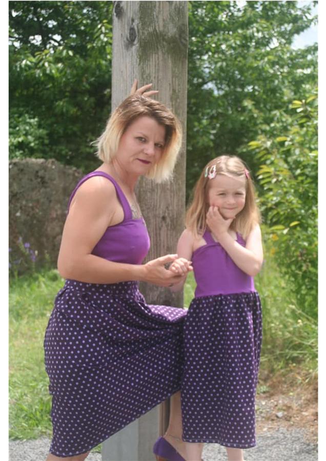 Produktfoto 5 von Rosalieb & Wildblau für Schnittmuster Kombi-Ebook Boho-Bandeau Damen und Kids