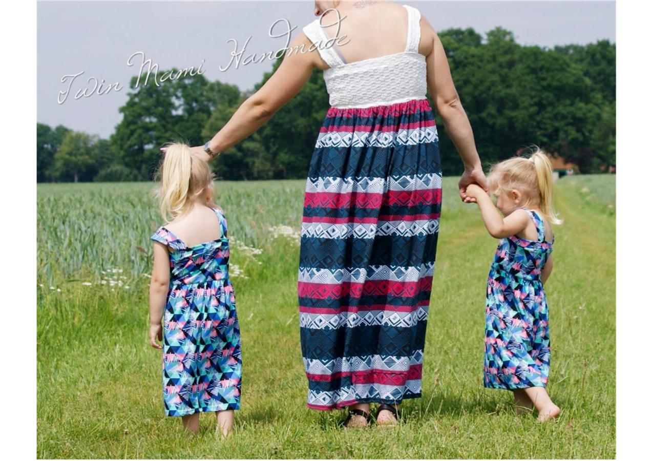 Produktfoto 6 von Rosalieb & Wildblau für Schnittmuster Kombi-Ebook Boho-Bandeau Damen und Kids