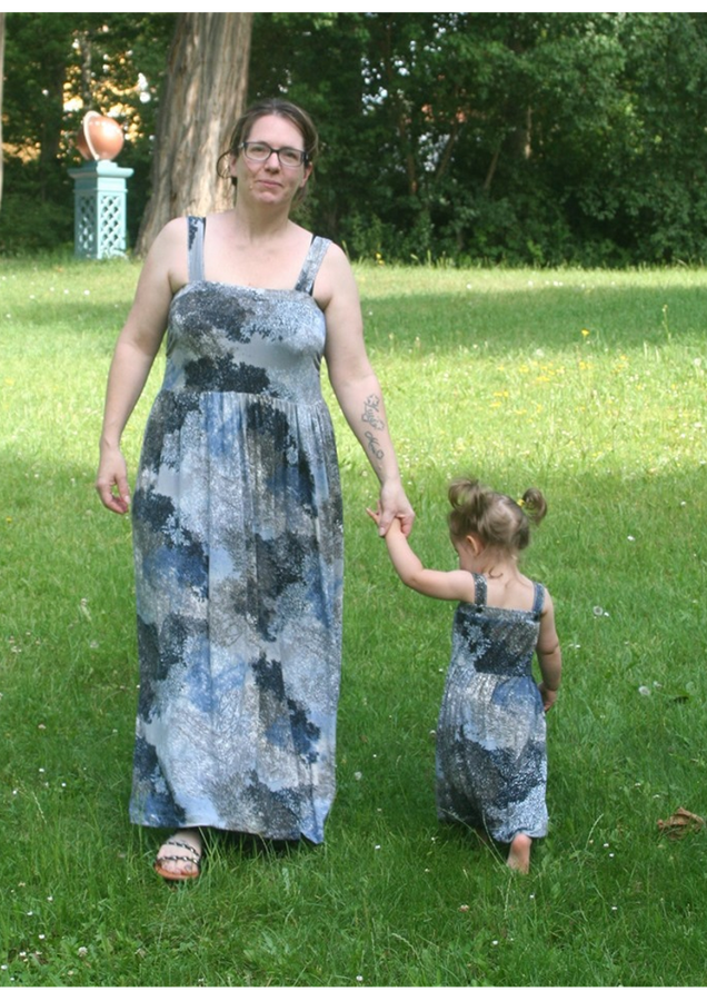 Produktfoto 7 von Rosalieb & Wildblau für Schnittmuster Kombi-Ebook Boho-Bandeau Damen und Kids