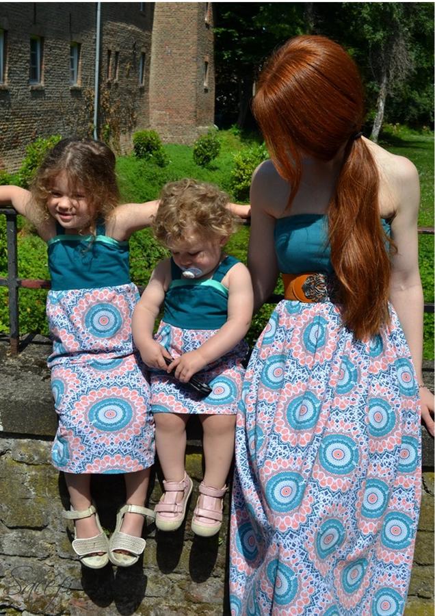 Produktfoto 11 von Rosalieb & Wildblau für Schnittmuster Kombi-Ebook Boho-Bandeau Damen und Kids