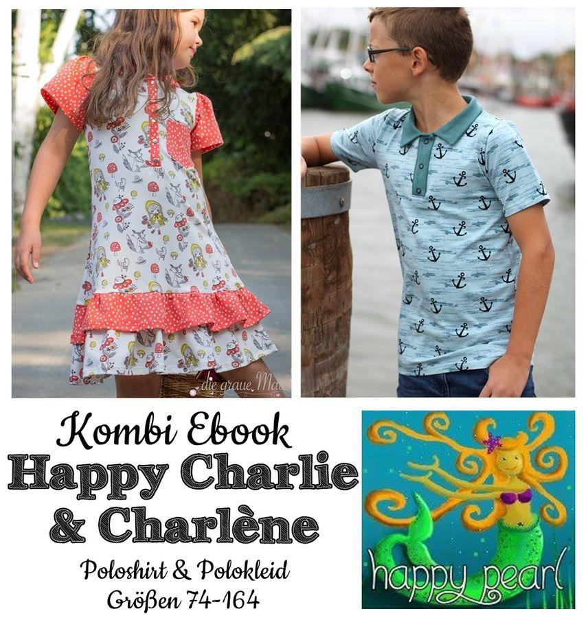 Produktfoto 1 von Happy Pearl für Schnittmuster Happy Charlie + Charlène
