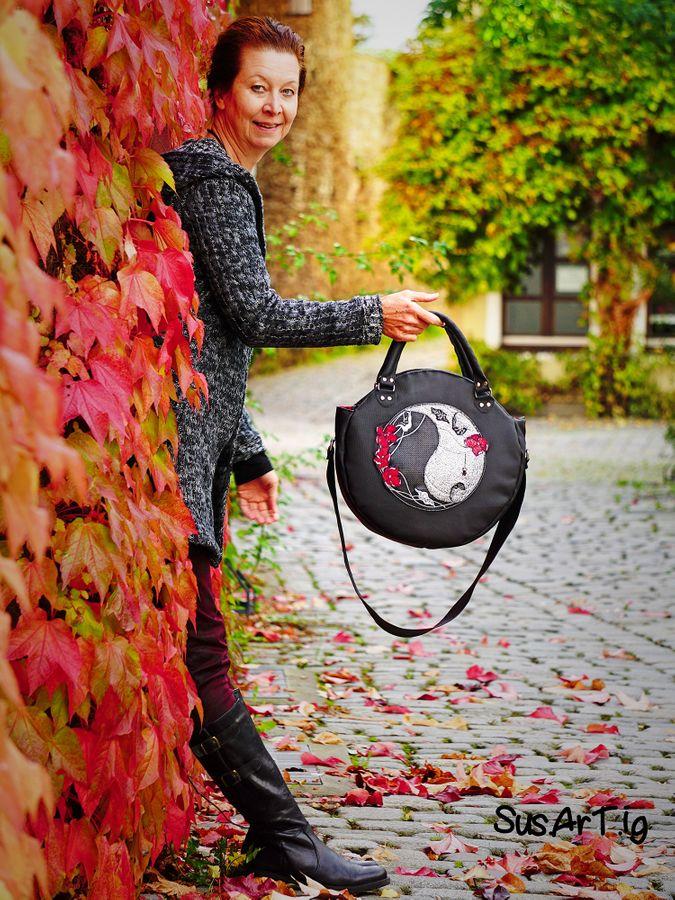 Produktfoto 12 von LaLilly Herzileien für Schnittmuster Circlebags Rondabel & Rondabelita