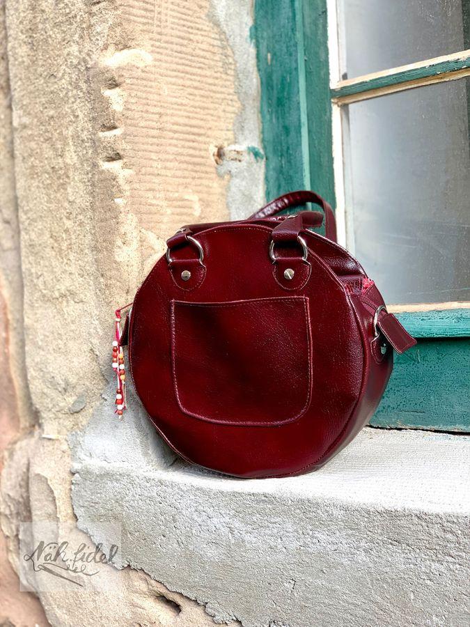 Produktfoto 14 von LaLilly Herzileien für Schnittmuster Circlebags Rondabel & Rondabelita