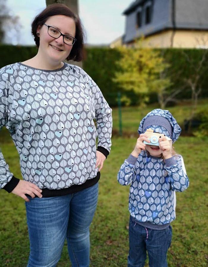Produktfoto 4 von Nähcram für Schnittmuster Mama/Kind-Kombi: MissLässig und Lara&Lars