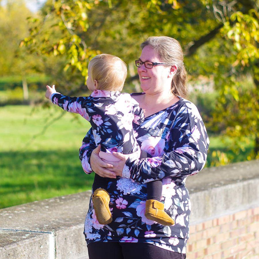 Produktfoto 6 von Nähcram für Schnittmuster Mama/Kind-Kombi: MissLässig und Lara&Lars