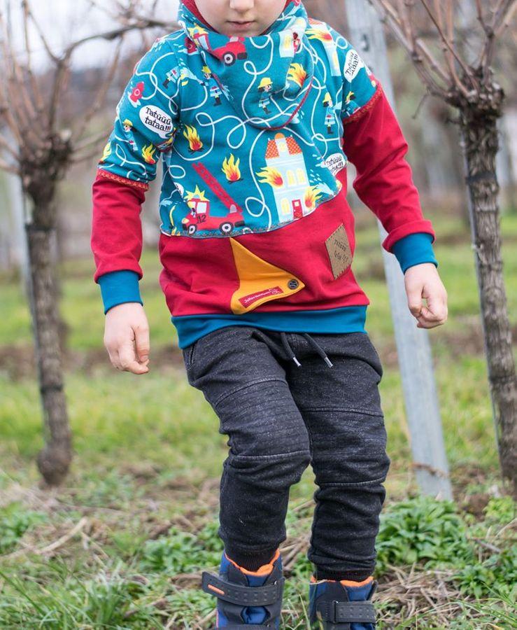 Produktfoto 4 von Happy Pearl für Schnittmuster Happy Aurela + Aurel - Tunika + Pullover