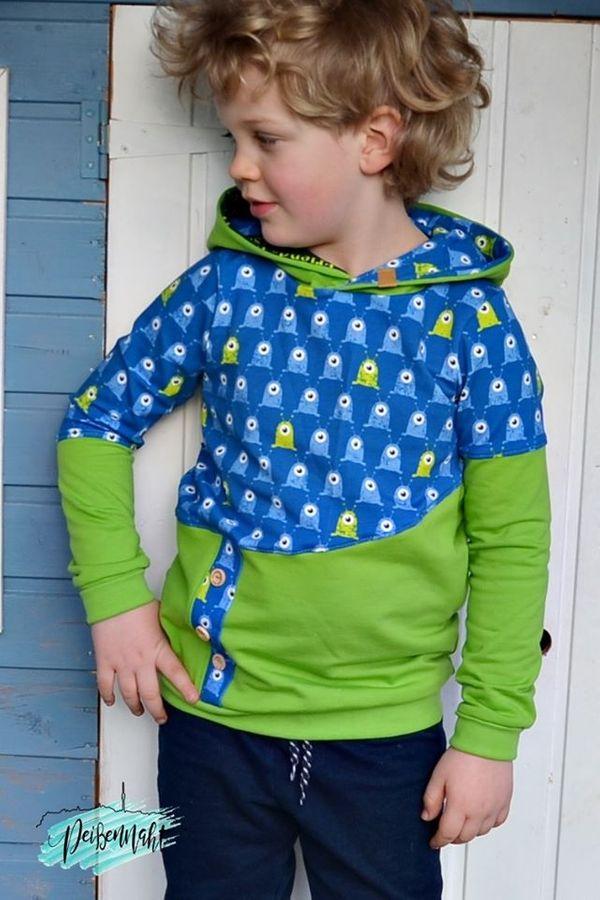 Produktfoto 9 von Happy Pearl für Schnittmuster Happy Aurela + Aurel - Tunika + Pullover