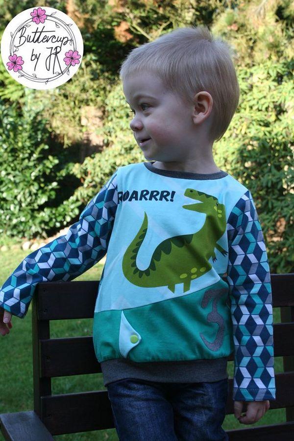 Produktfoto 12 von Happy Pearl für Schnittmuster Happy Aurela + Aurel - Tunika + Pullover