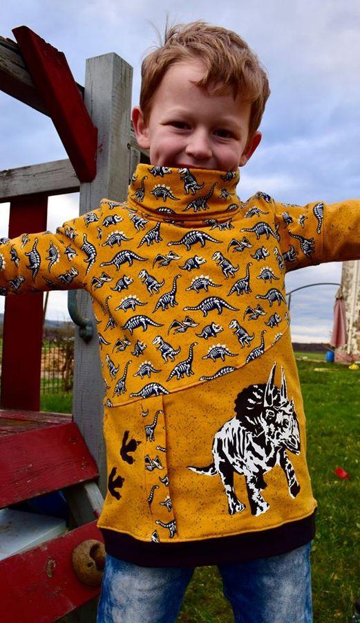 Produktfoto 16 von Happy Pearl für Schnittmuster Happy Aurela + Aurel - Tunika + Pullover