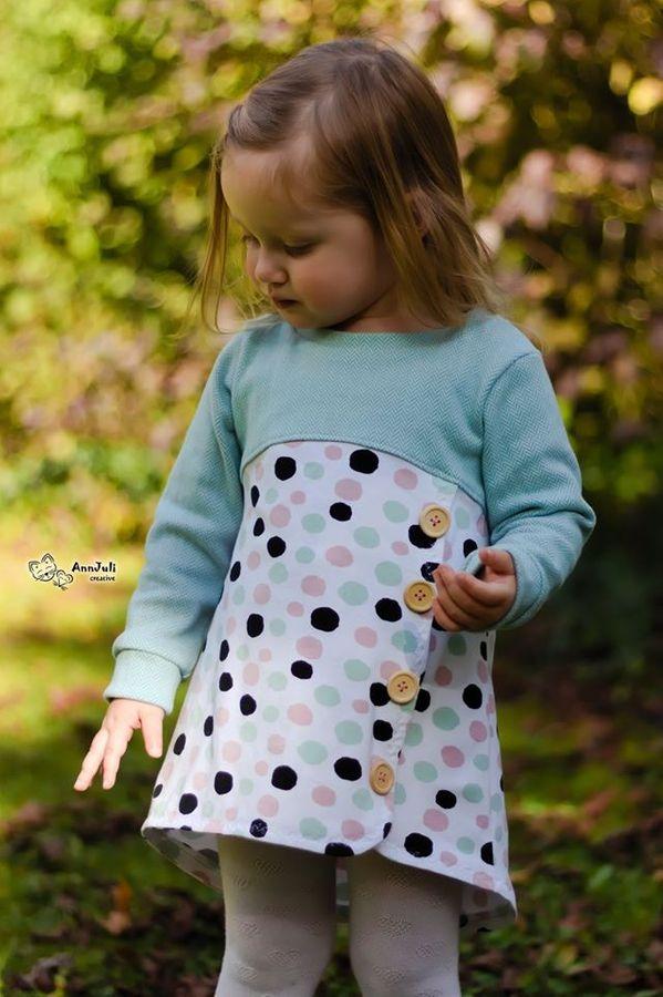 Produktfoto 17 von Happy Pearl für Schnittmuster Happy Aurela + Aurel - Tunika + Pullover