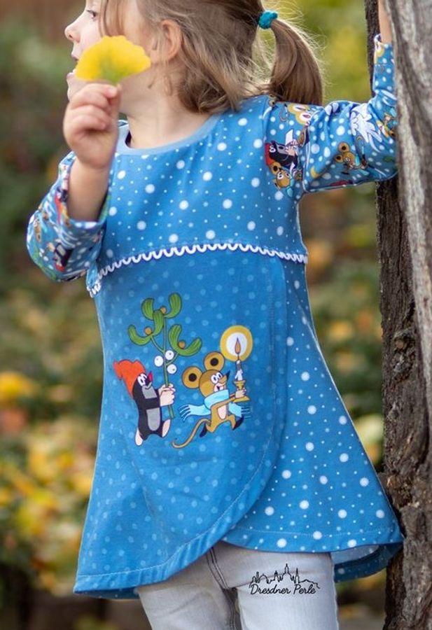 Produktfoto 20 von Happy Pearl für Schnittmuster Happy Aurela + Aurel - Tunika + Pullover