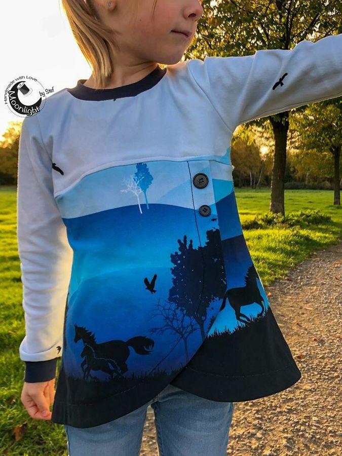 Produktfoto 21 von Happy Pearl für Schnittmuster Happy Aurela + Aurel - Tunika + Pullover