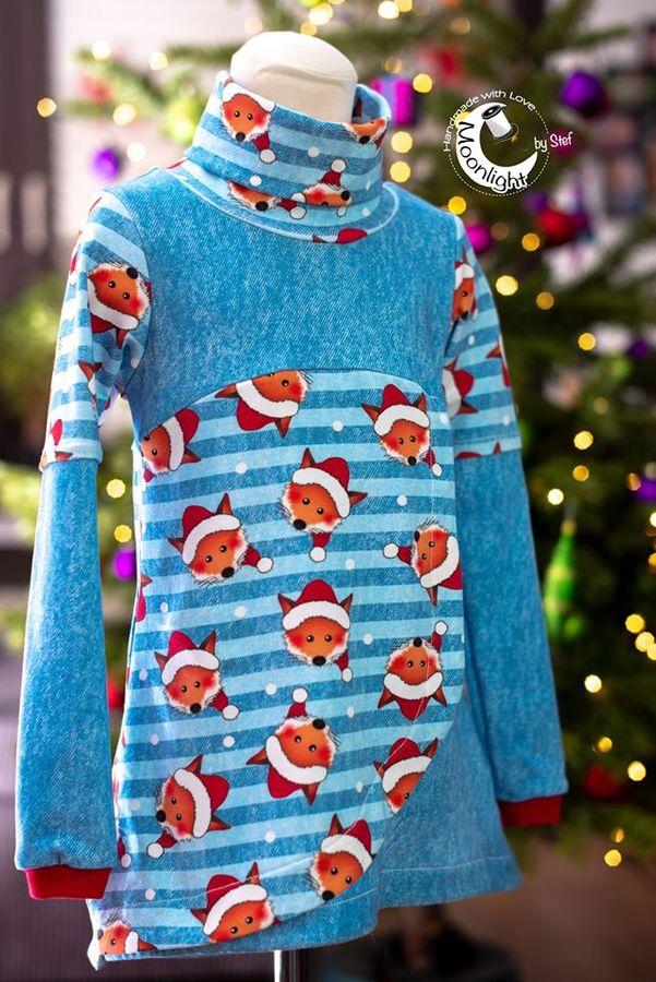 Produktfoto 22 von Happy Pearl für Schnittmuster Happy Aurela + Aurel - Tunika + Pullover