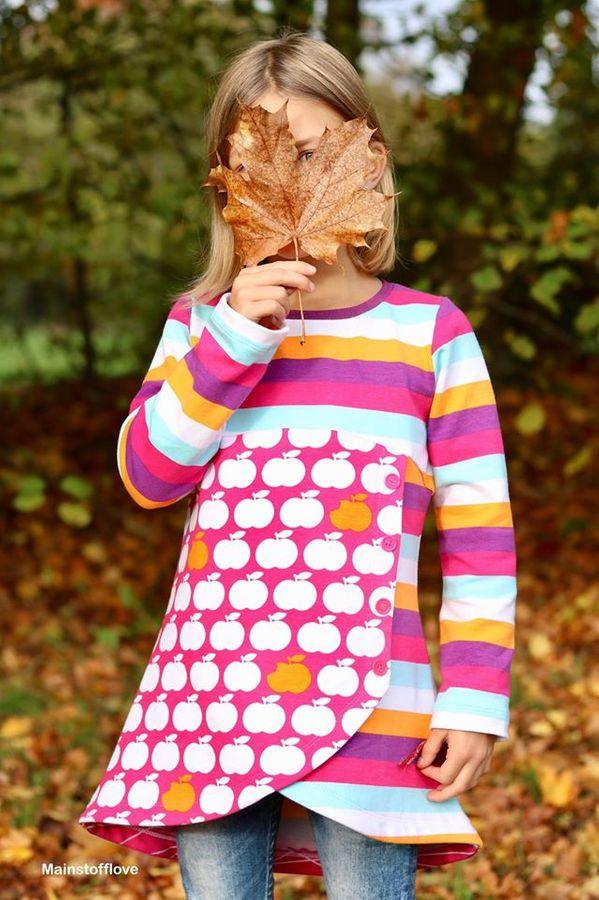 Produktfoto 25 von Happy Pearl für Schnittmuster Happy Aurela + Aurel - Tunika + Pullover