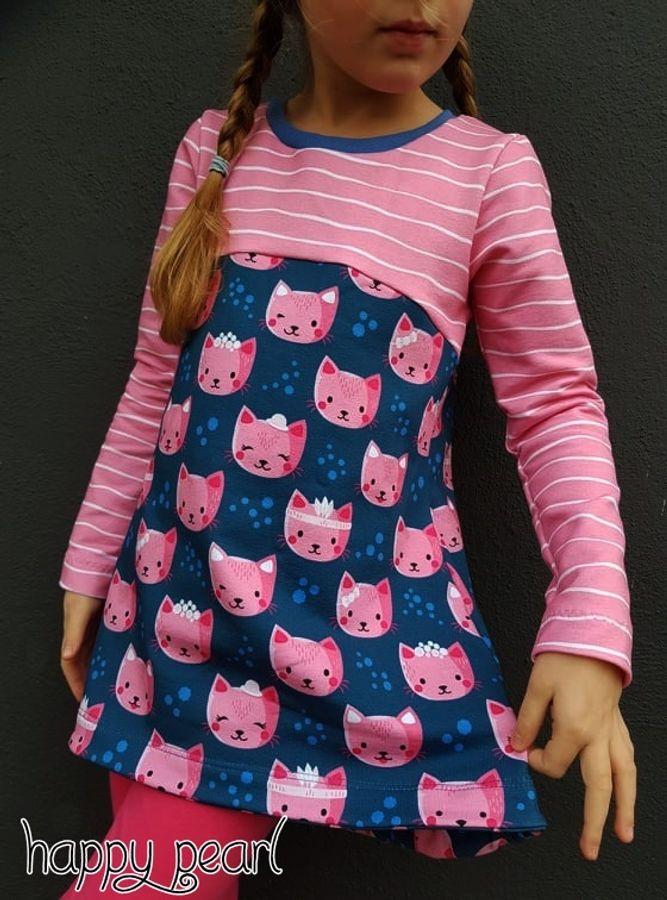 Produktfoto 29 von Happy Pearl für Schnittmuster Happy Aurela + Aurel - Tunika + Pullover
