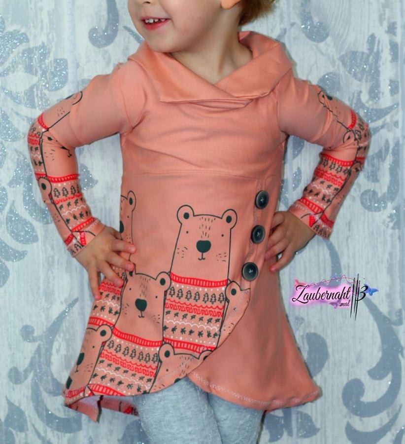 Produktfoto 30 von Happy Pearl für Schnittmuster Happy Aurela + Aurel - Tunika + Pullover