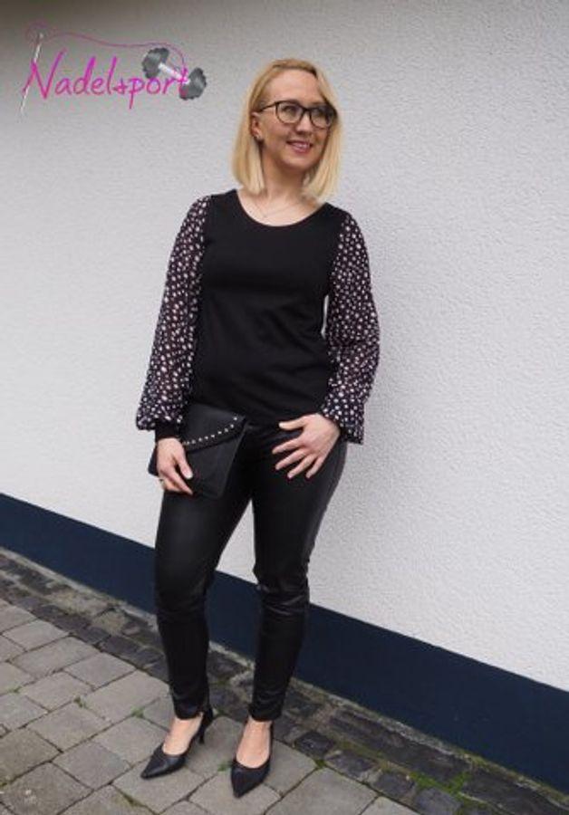 Produktfoto 5 von drei eMs für Schnittmuster Shirt/Kleid LACONA + Rock CLARIE XS-XXXL