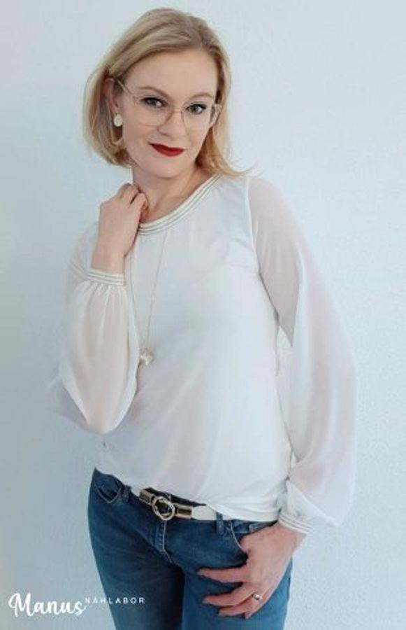 Produktfoto 7 von drei eMs für Schnittmuster Shirt/Kleid LACONA + Rock CLARIE XS-XXXL