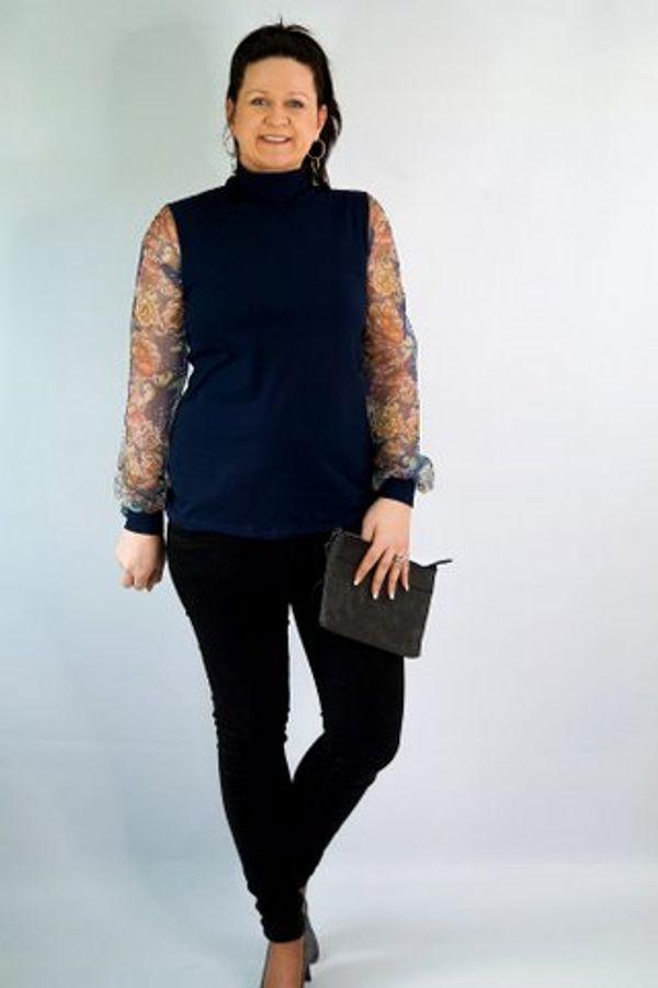 Produktfoto 9 von drei eMs für Schnittmuster Shirt/Kleid LACONA + Rock CLARIE XS-XXXL