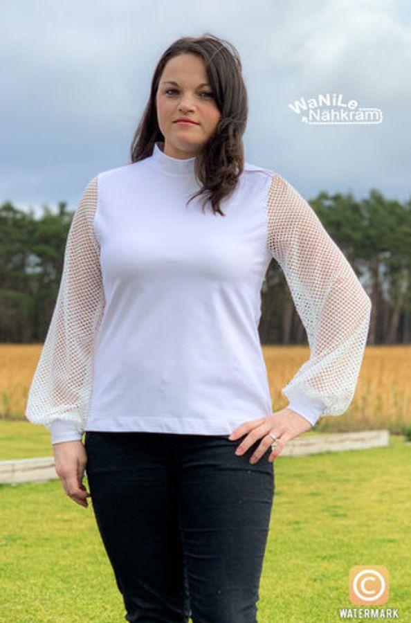 Produktfoto 20 von drei eMs für Schnittmuster Shirt/Kleid LACONA + Rock CLARIE XS-XXXL