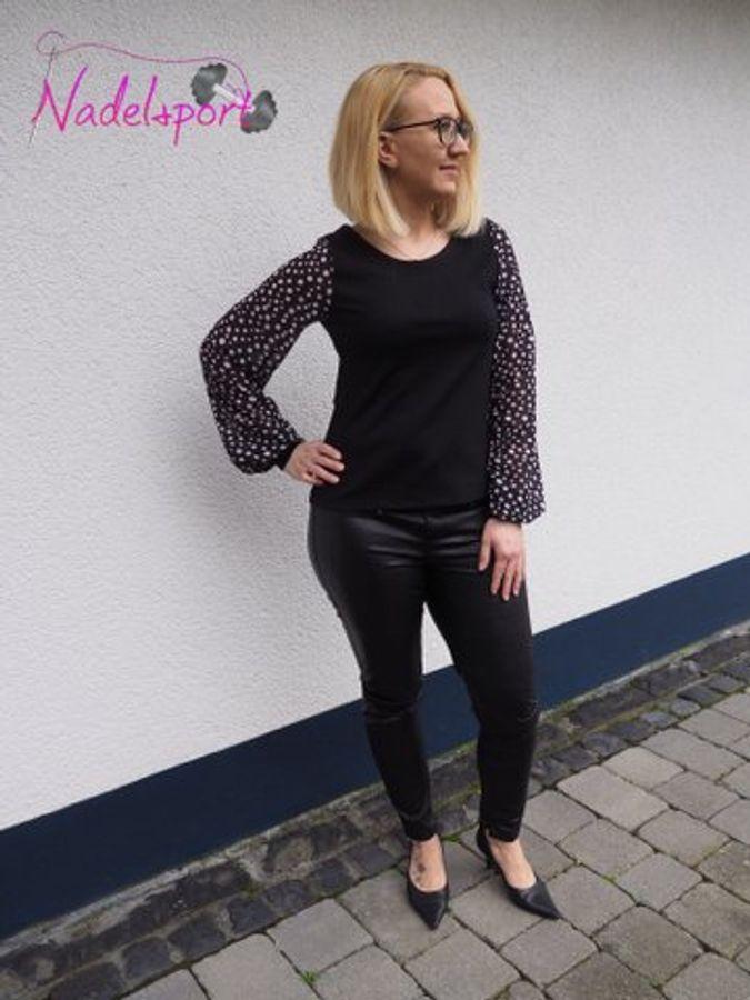 Produktfoto 23 von drei eMs für Schnittmuster Shirt/Kleid LACONA + Rock CLARIE XS-XXXL