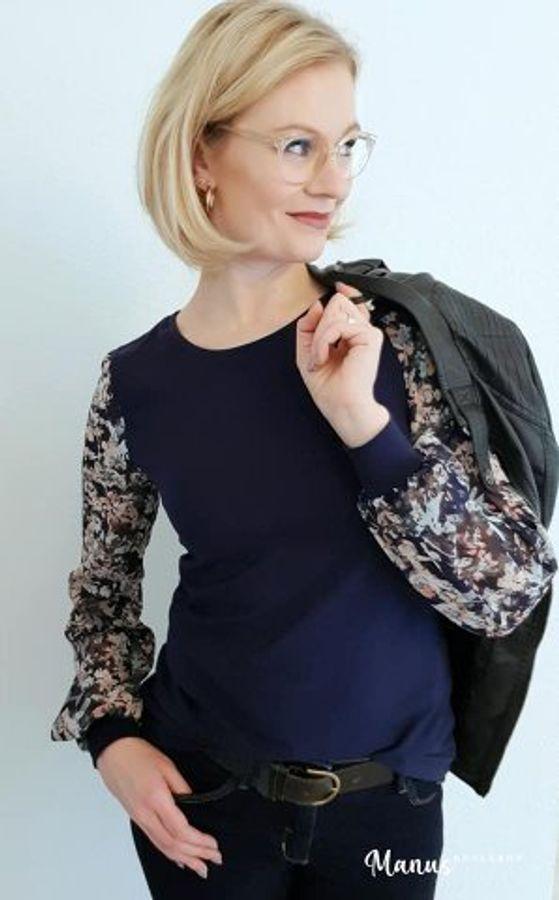 Produktfoto 25 von drei eMs für Schnittmuster Shirt/Kleid LACONA + Rock CLARIE XS-XXXL