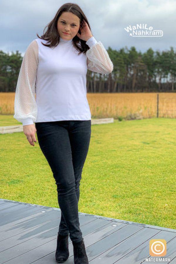 Produktfoto 33 von drei eMs für Schnittmuster Shirt/Kleid LACONA + Rock CLARIE XS-XXXL